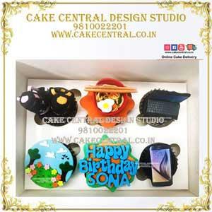 Happy BIrthday Cupcakes Delhi Online