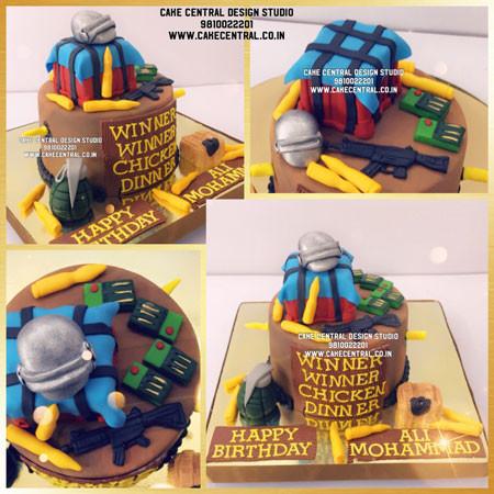 Order Online Pubg Cake Delhi Noida Gurgaon
