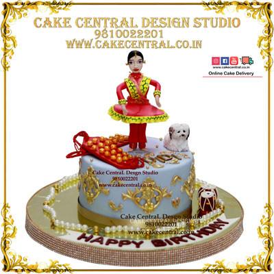 Princess Theme Birthday Cake in Delhi Online