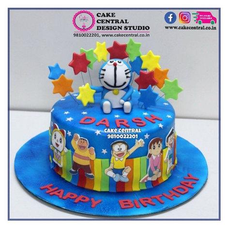 Doraemon  theme Cake Delhi