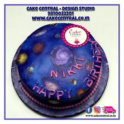 Galaxy Cake in Delhi