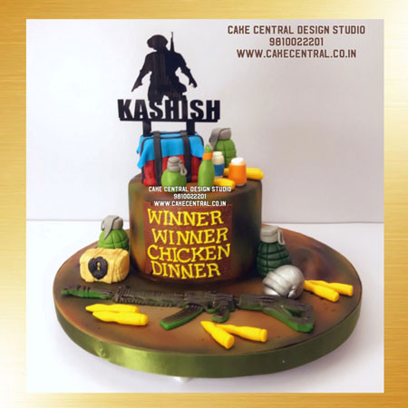 Pubg Cake In Delhi Online Birthday