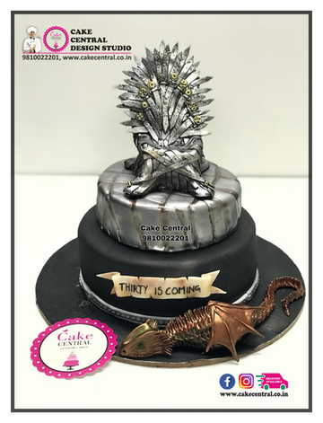 Dragon Cake Game of Thrones Delhi