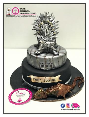 Dragon Cake Game of Thrones Delhi