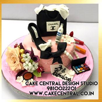 Chanel Makeup Cakes Delhi Online
