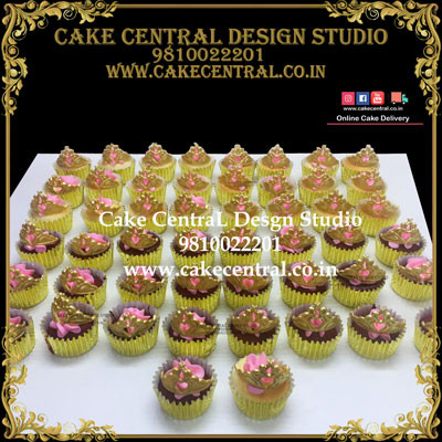 Princess Themed Cupcakes in Delhi Online