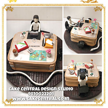 Workaholic_Office_Cake_for_Husband_Delhi_Online