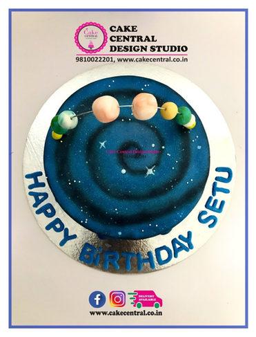 Space Theme Birthday Cake Delhi