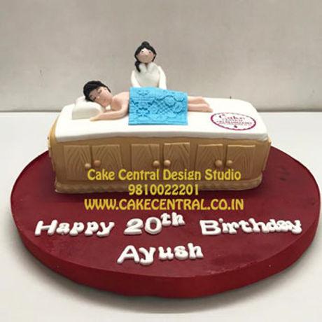 Spa_Massage_Cake_Delhi_Online