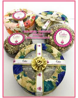 Cake / Brownies Platters Delhi , Wedding  invite Gift Cakes Delhi