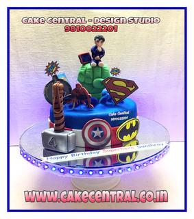 All Super Hero Cake Delhi