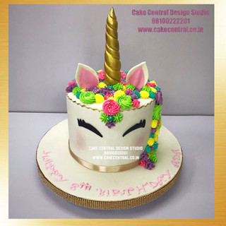 Unicorn Cake Design Delhi