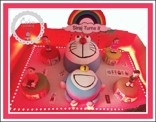 Doramon & his friends 4D Designer Cake Delhi | Online Cake Delivery Delhi , Gurgaon , Noida