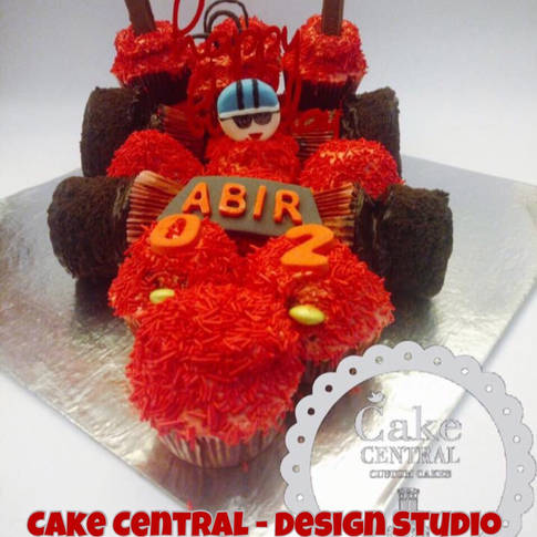 Racing Car Cake | Sports Racing Cake Cake Delhi Online with Delivery