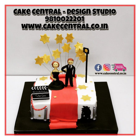 Romantic Wedding Anniversary Cakes in Delhi Online