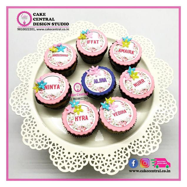 Birthday Party  Return Favours Gift Cupcakes Delhi | Customised Return Party Gifts  Cupcakes - Cake Central - Premier Cake Design Studio , New Delhi , Delhi