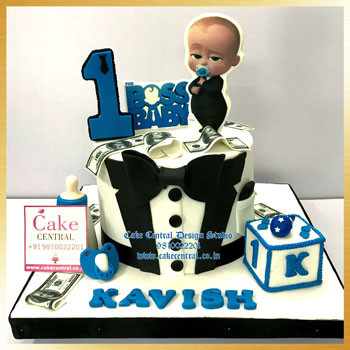 Cute Boss Baby Cake Online with Delivery Delhi NCR