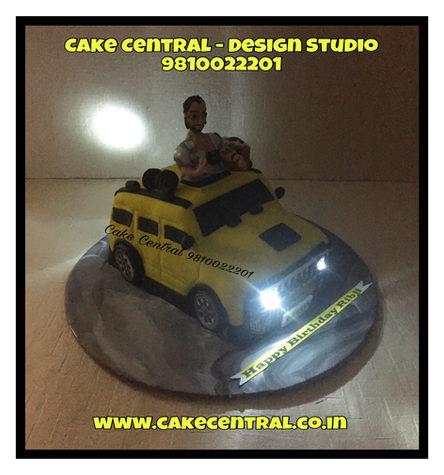 Car Shaped 3D Cake Delhi |