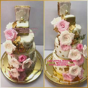 Ring Box Engagement Cake Delhi Online