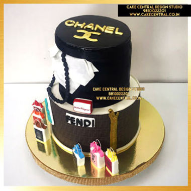 Chanel HandBag Cake for Mom in Delhi Online