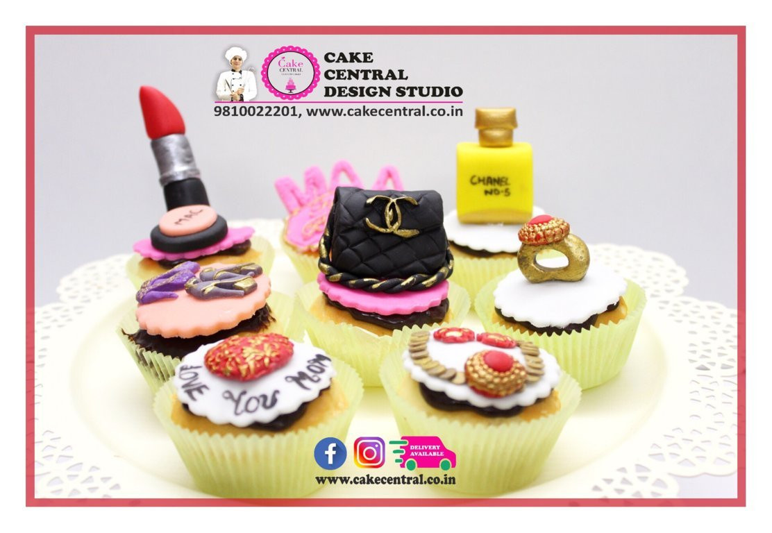 Designer Cupcakes Online In Delhi Customized Cupcakes Home Delivery