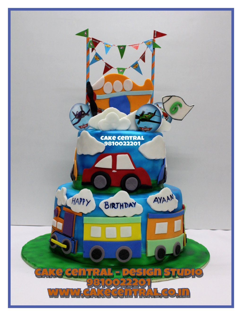 Remarkable The Best First Birthday Cakes For Baby Girls Boys In Delhi Online Birthday Cards Printable Trancafe Filternl