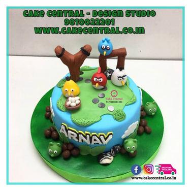 Angry Birds Cake Online in Delhi