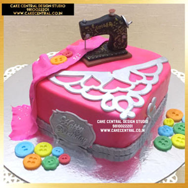 Fashion Designer & Tailor , Sewing Machine Cake in Delhi Online