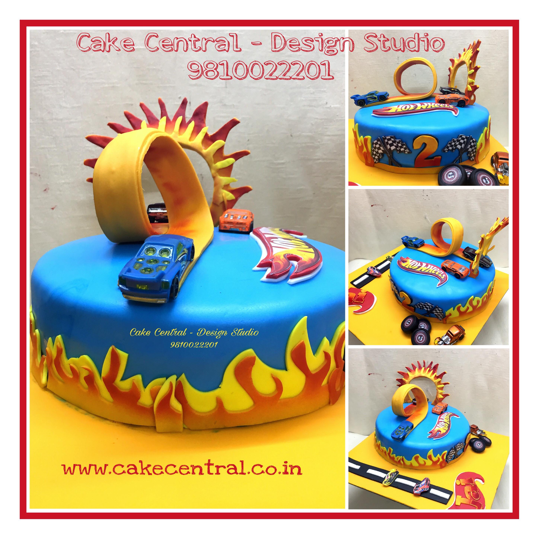 Hot Wheels Birthday Cake Delhi Online