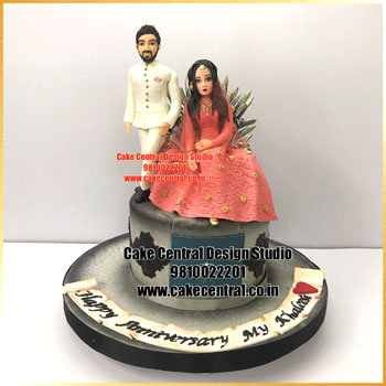Best Wedding Anniversary Cake Design Delhi