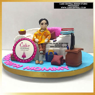 Sofa Cake for Mom's Birthday in Delhi Online