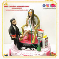 Customised Birthday Cakes for Women on Fashion/ Diva/Make-Up themes