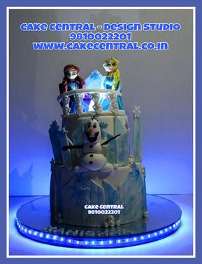 Frozen Princess Cake Delhi Online / Kids Birthday Cake
