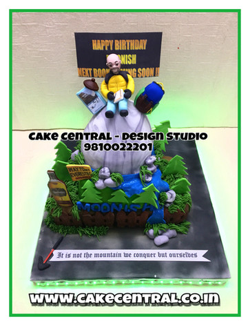 Cake for Boss Delhi , Gurgaon , Noida | Corporate Cakes Gurgaon , Delhi , Noida | Brand Logo Cake Delhi | Cake Central - Premier Cake Design Studio , New Delhi , Delhi