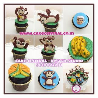 Best Customized Cupcakes Delhi | Designer Cupcakes Delivery Delhi , Noida , Gurgaon