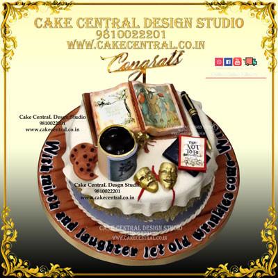 Retirement Cakes in Delhi Online
