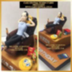 Dad on Recliner Cake in Delhi Online