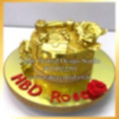 Gold Cakes in Delhi Online