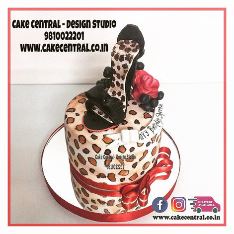 High Heel Shoe Cake Delhi