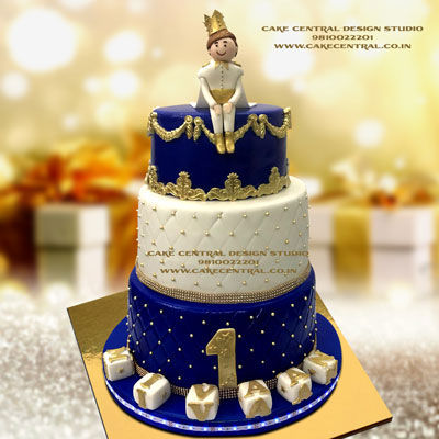 Little Prince Cakes for First Birthday in Delhi