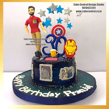 Avenger Cakes for Boys in Delhi Online