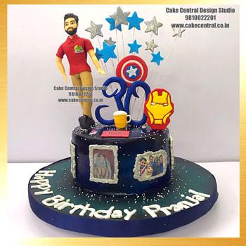 Avenger Cakes for Boys in Delhi Online