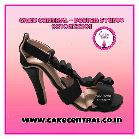 Jimmy Choo High Heel Cake Delhi   Prada /Gucci / Christian Louboutin High Heels Cake Delhi   Sandal Cake Delhi