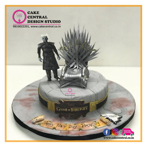 Nights King Game of thone Cake with Online Cake Delivery in Delhi