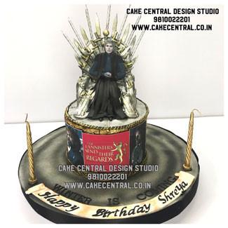 Game of Thrones Iron Throne Cake Design  Delhi Online