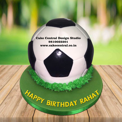 Soccer Ball Cake , Football Shaped Cakes in Delhi Online