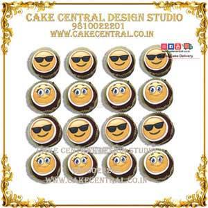 Emoji Cupcakes in Delhi