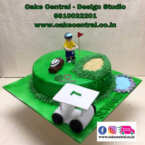 Golf Cake Delhi | Golf Bag Cake | Cake for a Golfer Delhi Online with Delivery