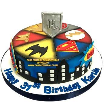 Avenger Cake Online in Delhi