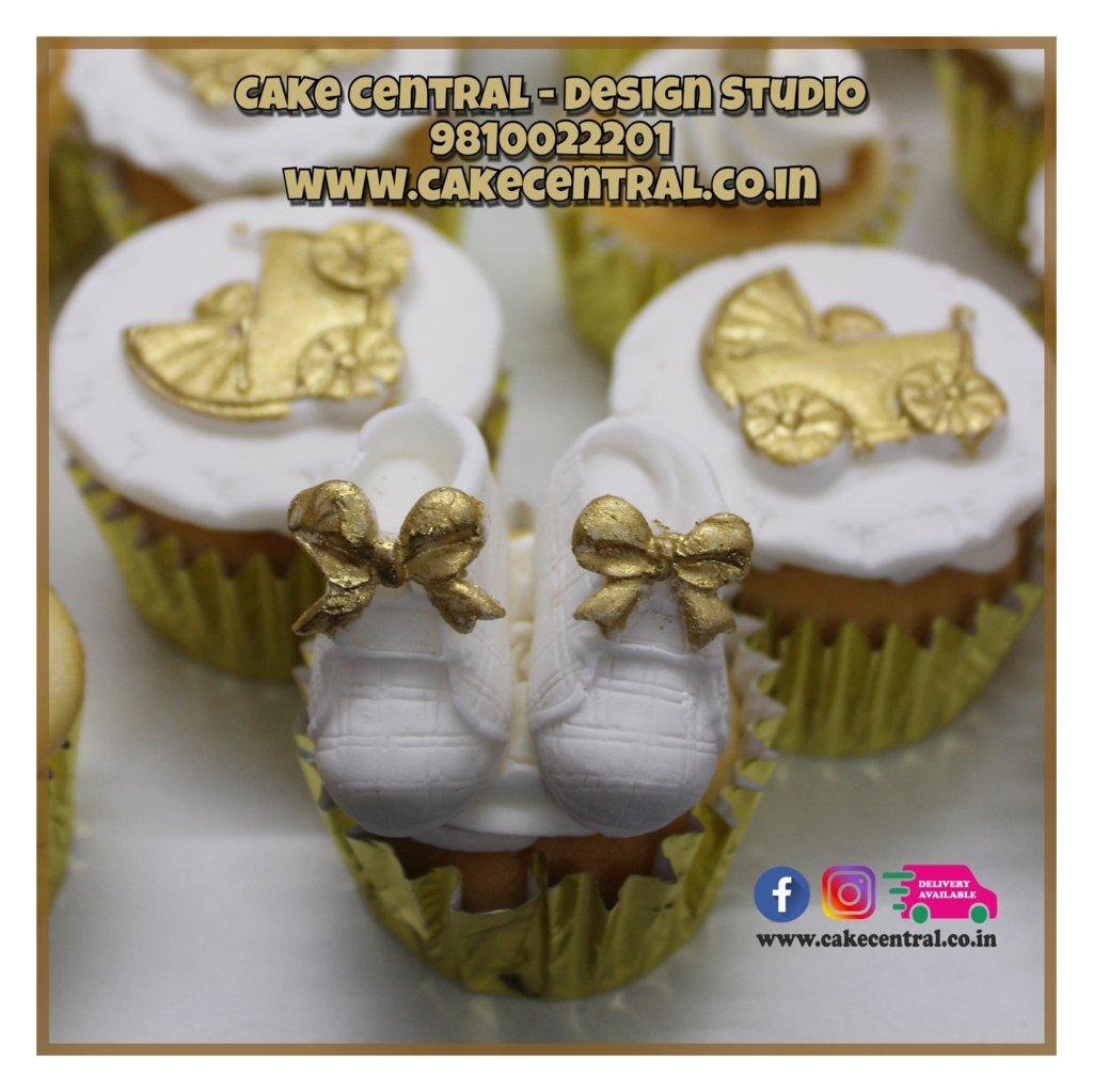 Baptism Christening Cupcakes Delhi